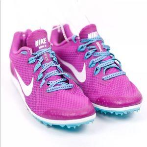 Nike Shoes - NEW NIKE Zoom Rival D 9 Purple Distance Track Shoe